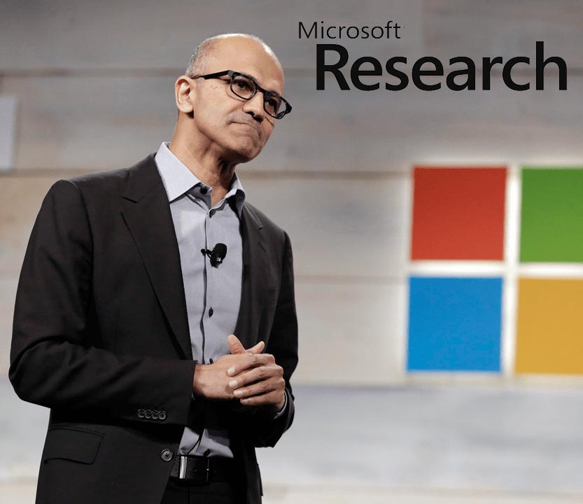 La divisione Microsoft Research: per nuove idee che guardano al futuro.