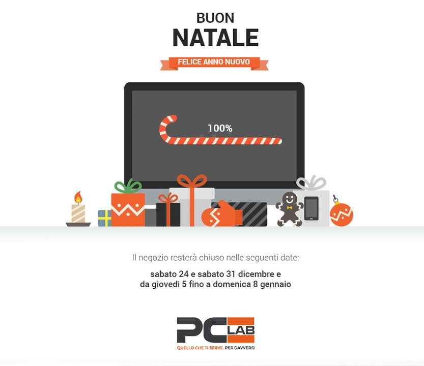 Buon Natale e Felice Anno Nuovo dai tuoi consulenti informatici di Brescia