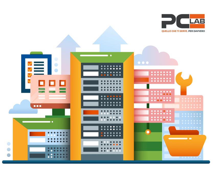 Sostituzione del server aziendale a Brescia per la sicurezza dei tuoi dati. Rivolgiti a PCLab
